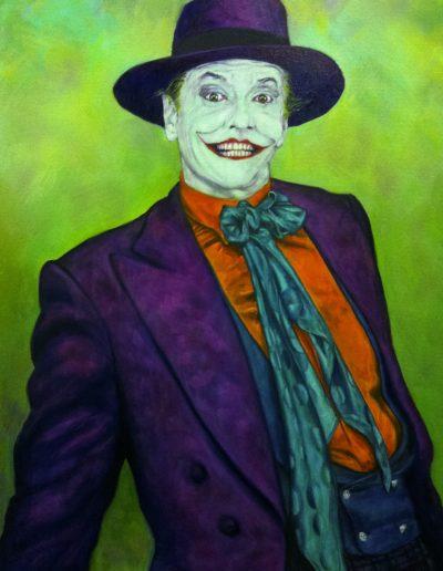 , Joker Jack, olio su tela, cm 60x80, 2017